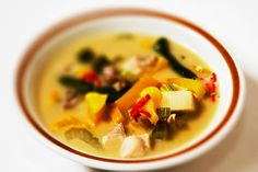 Thai Curry of Chicken with Sataw | Chicken is the perfect companion to the aromatic sataw beans.