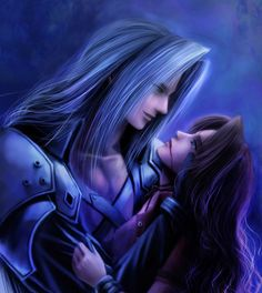 Aerith's death..Sephiroth's sin. Damn it they would have been an amazing couple!!