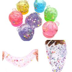 Honey 2018 Glitter Mud Funny Colorful Plasticine Adult Unzip Plasticine Kids Toys Slime Mud Decompression Drop Shipping Distinctive For Its Traditional Properties Gags & Practical Jokes
