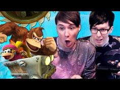 MINECART MANIA - Dan and Phil Play: Donkey Kong Country Tropical Freeze #2 - YouTube