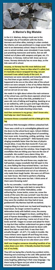 Welcome To Norway, Puny American Soldier // funny pictures - funny photos - funny images - funny pics - funny quotes - #lol #humor #funnypictures