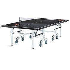Man Cave- Brunswick Indoor/Outdoor Table Tennis Table - Black Smash 5.0…