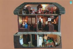 20th annual HBS Miniatures Creatin' Contest First Place Winner - Margo Givens The Merry Minxster
