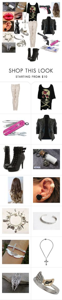 """""""Supernatural(6)"""" by maxinehearts ❤ liked on Polyvore featuring Abbey Dawn, Victorinox Swiss Army, Ultimate, Revolver, Matiere, Ollio, Anna Sui, King Baby Studio, Topshop and Pamela Love"""