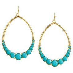 Mirna Earrings in Blue