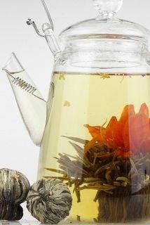 Blooming tea, beautiful...
