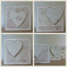 Hand made wooden plaques