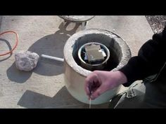 How to make your own kiln - Glass, Aluminum, Copper.