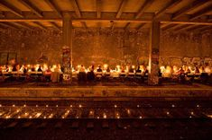 We are the Oracle. Clandestine parties in abandoned locations around Paris.