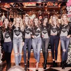 Talk about a grand entrance! The Angels work it at New Bond Street. #VSFashionShow