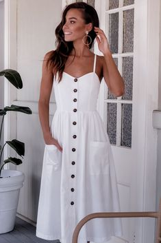 Beautiful casual dresses - 47 Beautiful Casual Dress Ideas for Women Beautiful Casual Dresses, Cute Dresses, White Dress Casual, Simple Dresses, Midi Dresses, Long Casual Dresses, Elegant Dresses, Sexy Dresses, White Boho Dress