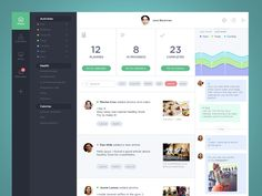 Dribbble - Sport activity product dashboard by Stas Petryanick