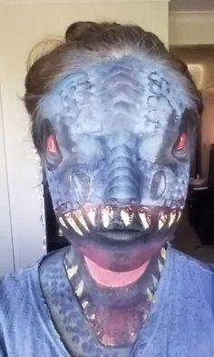 indominus rex face art