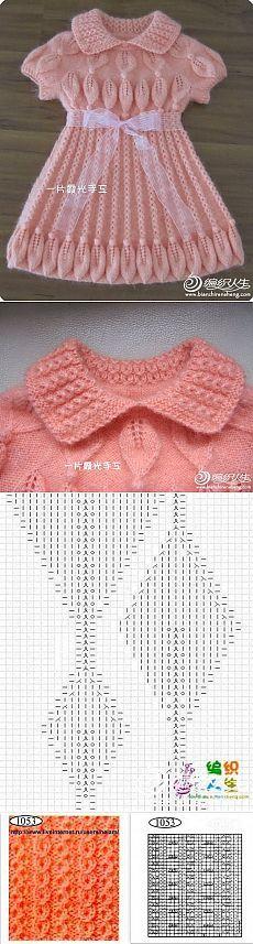 """Вязание: платье """"Лотос"""""""