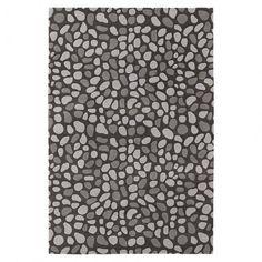 Pumice Stone Wool Rug in Slate