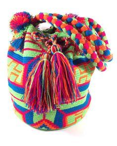 JAYEECHI MINT WAYUU BAG available at www.shopkokay.com #wayuubag #kokay