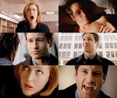SCULLY: What are you doing down here, Mulder? MULDER: Having the best damn day of my life. Any moment I'm about to burst into song — zip a dee doo dah. My, uh, water bed sprung a leak and shorted out my alarm clock. My cell phone got wet and crapped out on me and the check I wrote my landlord to cover the, uh, damages is going to bounce if I don't deposit my pay. You ever have one of those days, Scully? SCULLY: Since I've been working here? Yeah. When did you get a water bed, Mulder?