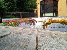 BRUSK http://www.widewalls.ch/artist/brusk/ #graffiti #street #art