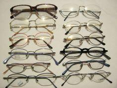 Restposten: 12 Brillenfassungen verschiedener Hersteller. Posten Nummer 2