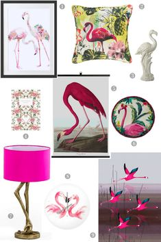Pretty Flamingo Home