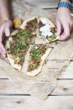 Kulinarne podróże: Kuchnia Turecka II. Lahmacun. Tacos, Mexican, Cheese, Ethnic Recipes, Food, Breads, Pizza, Bread Rolls, Meal
