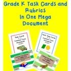 What a value! This document contains Common Core ELA and Common Core Math rubrics and task cards all in one bundle. This resource is great for teac...