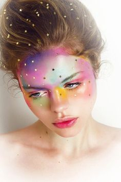 """""""La tête dans les nuages"""" Published in: Elegant Magazine Photographer : Vanilla Line Annika Cuzner @Dulcedo Model Management Mua & A.D : Marika D'Auteuil , Makeup Artist Hair : Nadia Abouwaked"""