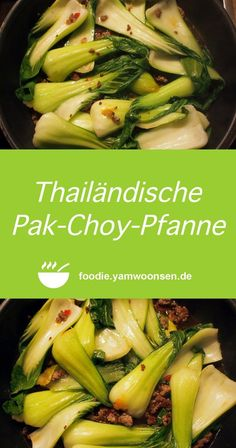 Thailändische Pak-Choy-Pfanne - The Best Easy Chinese Recipes Whole30 Recipes Lunch, Healthy Meat Recipes, Meat Recipes For Dinner, Spicy Recipes, Asian Recipes, Crockpot Recipes, Chicken Recipes, Crockpot Meat, Keto Chicken