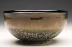 Sebastian Moh- nebula tenmoku- porcelain bowl