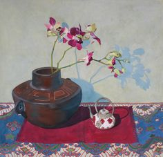 Miniature Teapot Still-life Painting by Jan Lawnikanis Pencil Painting, Buy Art Online, Teaching Art, Watercolor And Ink, Paintings For Sale, Cool Artwork, Online Art Gallery, Lovers Art, Canvas Art Prints