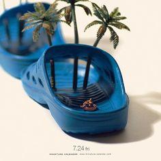 """. 7.24 fri """"Lazy-river"""" . 「安心してください、はいてますよ。」 . . #サンダル  #とにかく明るい安村"""