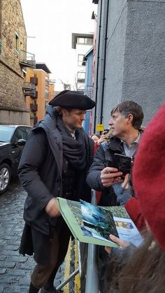 Looking for peace? Look for a river. — surana17:  FAN PICS SAM HEUGHAN