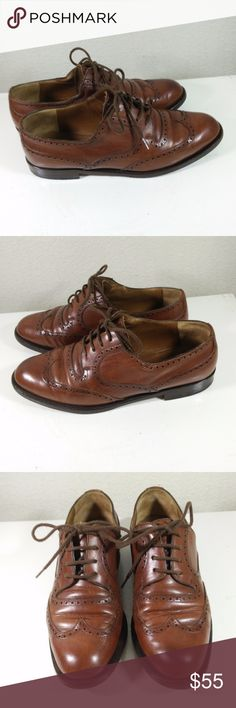 FRATELLI ROSSETTI Brown Lace-Up Wingtip Oxford FRATELLI ROSSETTI Brown Leather Classic Lace-Up Wingtip Oxford  - Shoes marked size 5.5 M on sole (see picture) - Very High End Dress Shoes in Beautiful pre-owned condition - Priced over $450 when new - absolutely awesome and at this price certainly a very rare find! (ref#1728) FRATELLI ROSSETTI Shoes Oxfords & Derbys