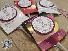 Stampin' Up!, Verpackung, Lolly