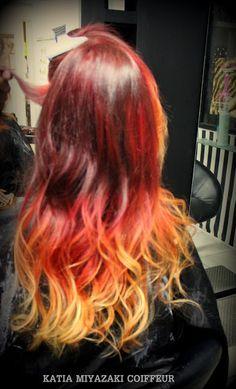 Katia Miyazaki Coiffeur - Salão de Beleza em Floripa: Cabelo Colorido -  Longo - Modelado - sunset hair ...