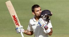 Virat Kohli became only the third Indian to score a hundred on his captaincy debut as the visitors responded resolutely to Australia's mammoth first innings total by reaching 369 for five on the third day to leave the first cricket Test evenly poised here today.