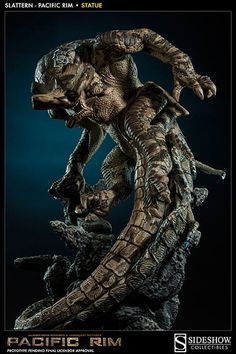 SIDESHOW COLLECTIBLES PACIFIC RIM SLATTERN KAIJU PHOTOS UNVEILED