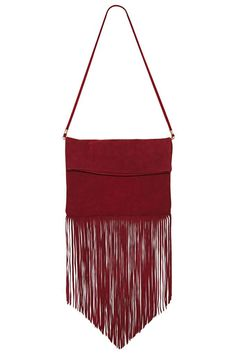Due West Suede Fringe Bag at Nasty Gal