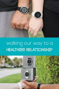 #sponsored by @garmin. When my husband and I decided to get fit and healthy this year, we knew that we needed each other for moral support if we were really going to succeed.  While we have successfully begun to change our diet, we weren't exercising the way we knew we needed to. We tried promising each other that we would walk every morning or night, but we just got busy with work and life and found ourselves remembering at the end of the day, too tired to do anything about it.