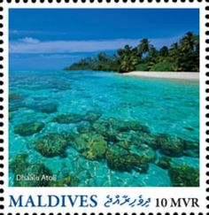 MLD16218a Maldives, Postage Stamps, Water, Prints, Outdoor, Stamps, The Maldives, Gripe Water, Outdoors