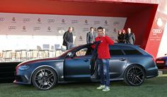 Real Madrid Players Receive Dozens of Audis