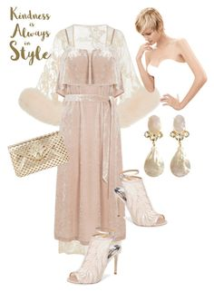 """""""Untitled #956"""" by belinda54-1 on Polyvore featuring Jonathan Simkhai, Warehouse, Badgley Mischka, Lilly Pulitzer and Sixtrees"""