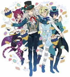 Star Art, Cute Anime Boy, Ensemble Stars, No Name, Mystic Messenger, Alice In Wonderland, Idol, Fictional Characters, Art