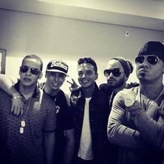 Daddy Yankee, Wisin y Yandel, J Balvin -- excuse me I need to go change my panties