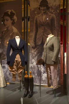 Riding outfits by the equestrian and livery tailors Bernard Weatherill have been put in pole position