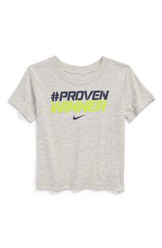 Nike 'Proven Winner' Short Sleeve T-Shirt (Toddler Boys)