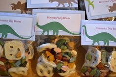 paleontologist dinosaur party party snacks