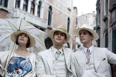 Hayley Atwell, Ben Whishaw and Matthew Goode in Brideshead Revisited