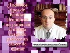 El alcohol y el cáncer de mama. Video en el que se describe la relación que hay entre la ingesta de alcohol y el riesgo de padecer un cáncer de mama.