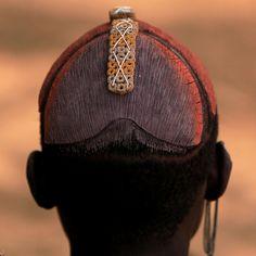 Ethiopie: la région de l' Omo; coiffe en argile (les Dassanetch). by claude gourlay, via Flickr
